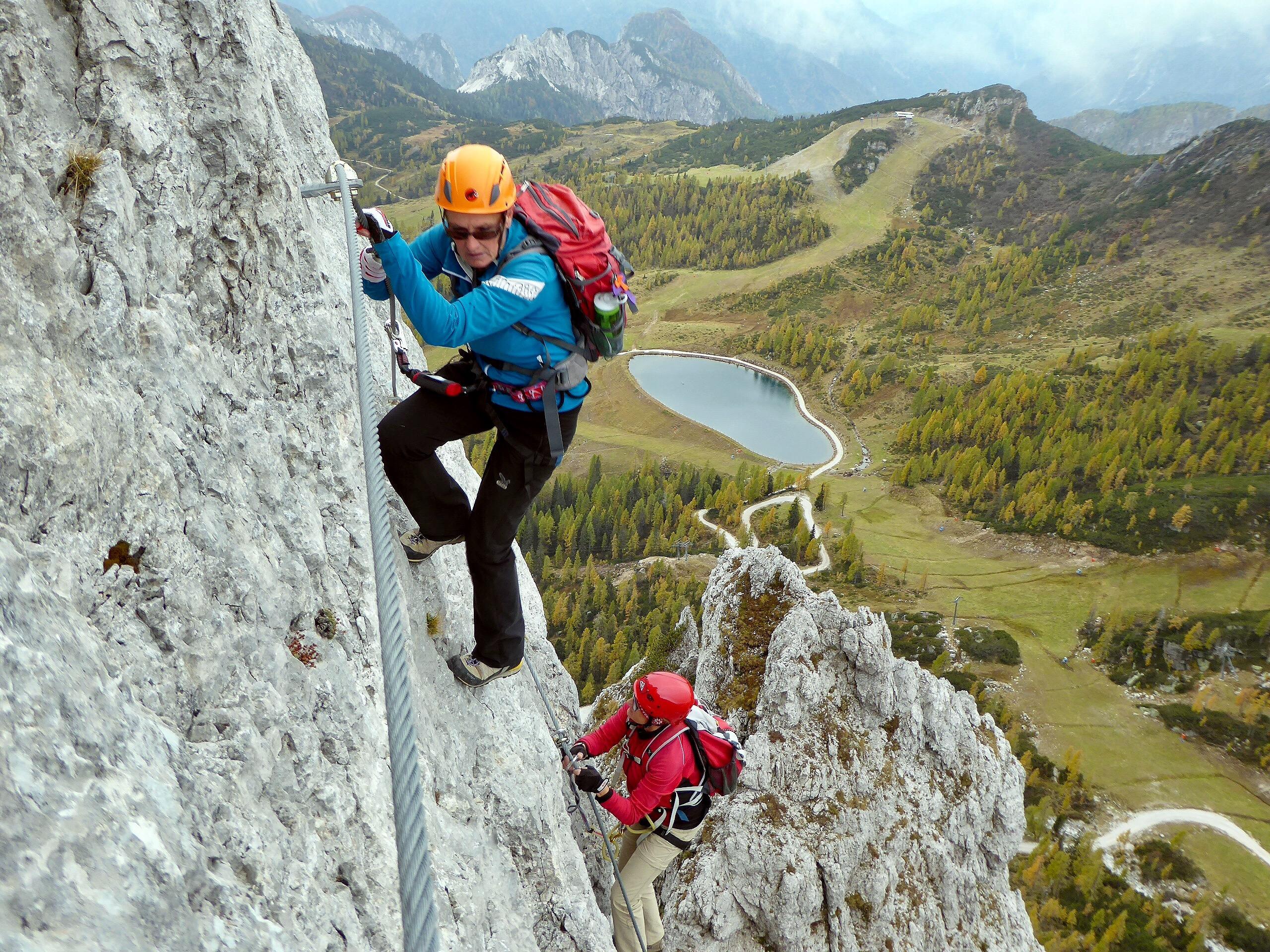 Klettersteig Däumling : Däumling klettersteig ein jahr für mich